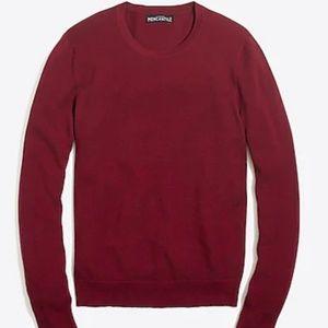 NWT - J Crew Mercantile Cotton Piqué Sweater M